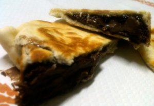 piadina bocconcini alla nutella