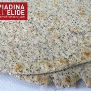 Piadina grano saraceno dettagli
